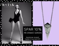 http://hvisk.com/drake?stylist=c3R5bGlzdHw2Njg4fDIwMTYtMDUtMTg, - Følg linket og få 10% på Drake serien #beautiful#jewelry#hvisk #hviskstyling#hviskstylist #styling#cheap#new #accessories#jewellery #drake