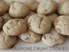 LYH Blog: Toblerone Chunk Cookie Recipe Toblerone, Cookie Recipes, Posts, Cookies, Desserts, Blog, Recipes For Biscuits, Crack Crackers, Tailgate Desserts