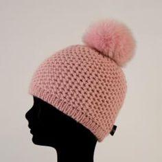 Fashion HPI of Sweden Fur Ball Hat Pink
