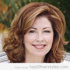 Medium Hair Styles For Women Over 40   Hairstyles For Women Over 40 With Medium Length Hair   TOP 20 ...