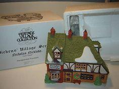 Dept 56 Dickens Village - Nicholas Nickleby Cottage