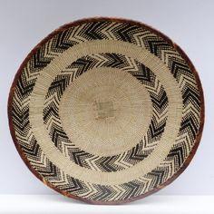 Wall Basket, Baskets On Wall, Storage Baskets, Basket Weaving, Hand Weaving, Eclectic Decor, Artisan, Wall Decor, Rustic