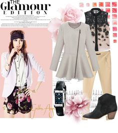 """""""Pink"""" by armaniwatchesonline ❤ liked on Polyvore"""