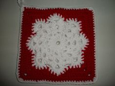 Ravelry: Linda's Snowflake Potholder pattern by Linda Bohrn....more current pic of the snowflake potholder by someone on Ravelry.