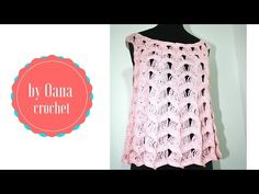 Crochet summer top - YouTube