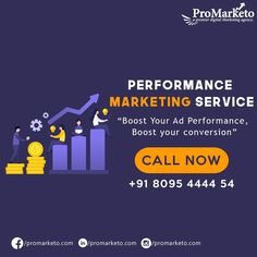 Performance is the measurement parameter of any business.  Is your performance going down day by day? Or are you not getting new businesses?  Well, we have the right solution for you. We'll make seen by your potential target audience at the very moment they're searching on Google for the things you offer. Increase your marketing efficiency, boost reach and drive results. . . . . Call Now: +91 8095 4444 54 Email: info@promarketo.com . . . . #digitalmarketing #dm #smm #socialmedia