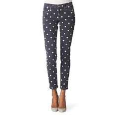 Polka dot jeans.... I need these in my life