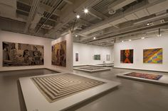 Power Station of Art - Shanghai ENIGMA WAY: TIME & SPACE, CARPET WEAVING APRIL 26 - JULY 13, 2014