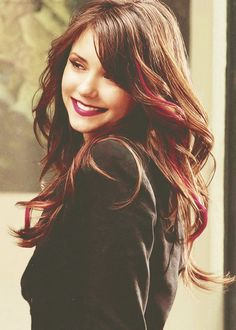 Nina Dobrev. New Goal for my hair - if I dont chop it off.....