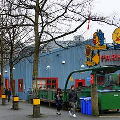 Granville Island, Vancouver, BC. My favorite  place in Vancouver. My mother remembers when it was a sawmill and watching it burn down when she was young. Now it is an artsy community.