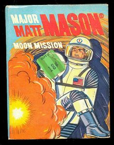 "1968 Major Matt Mason ""Moon Mission"" - Whitman Big Little Book"