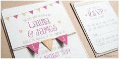 Die schönsten Einladungskarten für Hochzeiten von Something New Stationery bei Etsy | Hochzeitsblog - The Little Wedding Corner