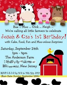 """After YES, Before I DO and Everything In Between: """"Farm Sweet Farm"""" 1st Birthday Party"""