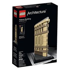 Create the Flatiron Building - a LEGO Architecture Landmark Series version of the Renaissance-style wedge-shaped New York skyscraper. Recreate the historic Flatiron Building skyscraper in LEGO bricks...