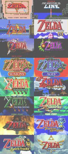 All the Zeldas