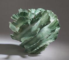 Sandra Davolio - stoneware vase - 22 x 25 cm/ Denmark keramiske arbejder