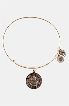 Definitely one I want to add to my collection!!!  Alex and Ani 'St. Anthony' Wire Bangle available at #Nordstrom
