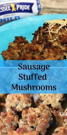 Sausage Stuffed Mush