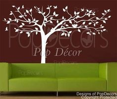 Super Big Tree-Wall Decals-Trees of Nature Style-