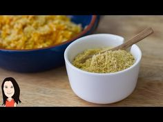 Nut Free Vegan Parmesan Cheese Recipe - YouTube