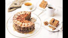 Ninja Foodi Apple Cake with Caramel Glaze ~ The Salted Pepper Healthy Apple Cake, Vegan Apple Cake, Moist Apple Cake, Easy Apple Cake, Fresh Apple Cake, Apple Cake Recipes, Upside Down Apple Cake, Jewish Apple Cakes, Caramel Icing