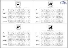 96 cartes auto-correctives Multiplication posée - Craie hâtive Multiplication Posée, Maths, Indigo, Bullet Journal, Words, Passport, Indigo Dye, Horse