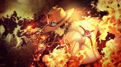 Wallpaper One Piece Hiken no Ace