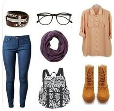 Super cute back to school outfit