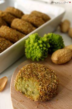 Polpettine di cavolfiore e semi di arachidi