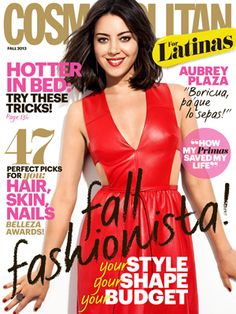 Puerto Rican Aubrey Plaza is our Fall cover girl! Check out a sneak peek of her cover story and a behind-the-scenes video of her photo shoot! http://www.cosmopolitan.com/cosmo-latina/aubrey-plaza-cfl-cover-2013