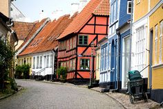 AEroskobing, Aero, Denmark It is against the law here to build any modern buildings looks so charming must go someday!