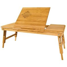 SoBuy Also Suitable For Left-handed, 100% Bamboo Foldable Laptop Table, Folding Bed Table, Lengthen Size, FBT04-L-N + A placemat Free! SoBuy http://www.amazon.com/dp/B00OH0EVN6/ref=cm_sw_r_pi_dp_8eutvb1P0WG2Q