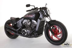 Custom Indian Motorcycle Scout