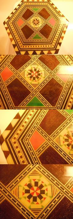 Home Decor: Taracea Marquetry Inlaid Wooden Jewelry Music Box. Brand New. Granada. Spain -> BUY IT NOW ONLY: $51 on eBay!