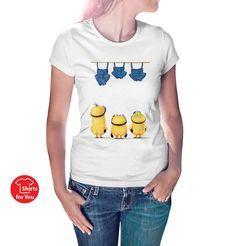 Minions T Shirt women - white