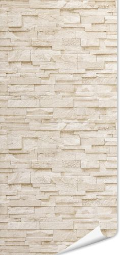 Non-woven garment color beige stone Source by Living Room Designs, Living Room Decor, Dining Room Paint, Brick Texture, Stone Bathroom, Brick Wall, Wood Art, Sweet Home, House Design