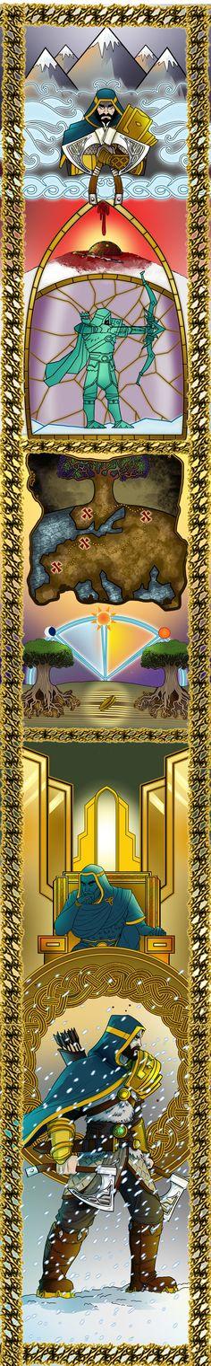 Ullr God Reveal by BehindtheVeil.deviantart.com on @DeviantArt