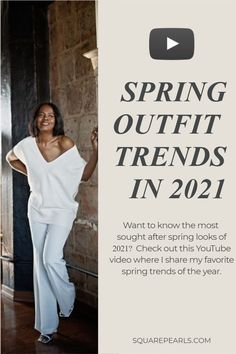 Check out my latest Youtube video where I share 5 of my favorite spring trends of 2021. Did you see a piece that you absolutely loved? Share with me on social how you plan to style your look! Spring Fashion Trends, Spring Trends, Spring Summer Fashion, Fashion Looks, Women's Fashion, Spring Looks, Black Girl Magic, Business Women, Lifestyle Blog