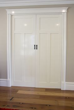 Colonial Victorian Style House using Intrim Group SK179 Skirtings, SK141 Architraves, SB03 Skirting Blocks and CM16 Door Crossheads