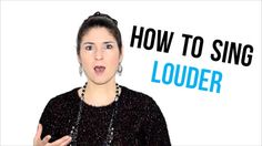 Have you always wanted to know how to sing louder? Here's a video tutorial about how to have a stronger voice. Have you always wanted to know how to sing louder? Here's a video tutorial about how to have a stronger voice. Singing Exercises, Vocal Exercises, Singing Lessons, Singing Tips, Learn Singing, Vocal Lessons, Music Lessons, Art Lessons, Learning To Relax