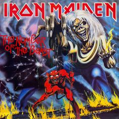Iron Maiden: The Number of the Beast Album Cover Parodies. A list of all the groups that have released album covers that look like the Iron Maiden The Number of the Beast album. Bruce Dickinson, Iron Maiden Album Covers, Iron Maiden Albums, Iron Maiden Cover, Rock N Folk, Rock Y Metal, Black Metal, Hard Rock, Heavy Metal Bands