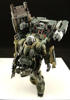 AMS-129F KaingZulu model by Pd02a, modified from HG 1-144 AMS-129m ZE ZULU