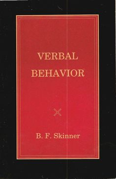 Verbal Behavior - Applied Behavior Analysis (@Behaviorbabe page on Verbal Behavior)