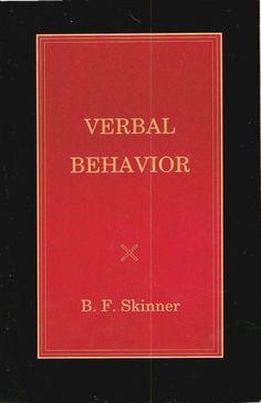 Verbal Behavior - Applied Behavior Analysis (@Behaviorbabe page on Verbal Behavior)