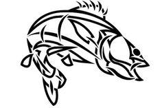 Tribal Walleye Fish by Ojibway-Doko