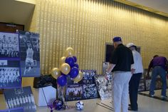 All Sports Reunion display inside the Ramsey Center.
