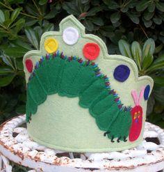 very hungry caterpillar birthday waldorf crown