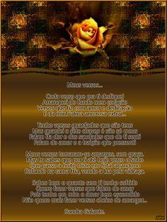 Meus versos... - Encontro de Poetas e Amigos