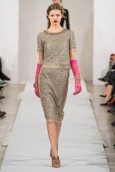 New York Fashion Week: Oscar de La Renta | Spazi di Lusso  http://www.spazidilusso.it/new-york-fashion-week-oscar-de-la-renta/