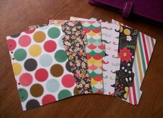'Allsorts 2' quirky A5 planner dividers. Fits Filofax